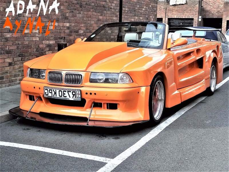 Wide Body BMW M3 E36 You'll Have Nightmares About - Live